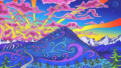 wallpapers psychedelic rock